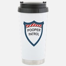 Pooper Patrol Travel Mug