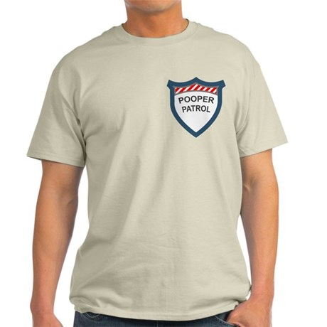 Pooper Patrol Light T-Shirt