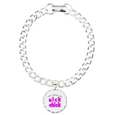 Tae Kwon Do Kick Chick Bracelet
