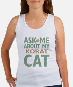 Korat Cat Women's Tank Top
