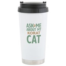 Korat Cat Travel Mug