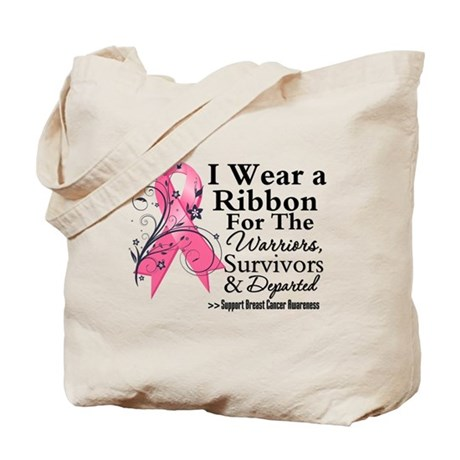 Pink Tribute - Breast Cancer Tote Bag