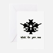 Ink Blot Test Greeting Cards (Pk of 20)