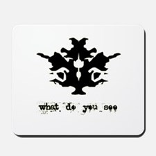 Ink Blot Test Mousepad