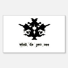 Ink Blot Test Decal
