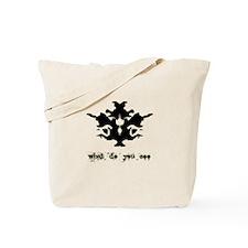 Ink Blot Test Tote Bag