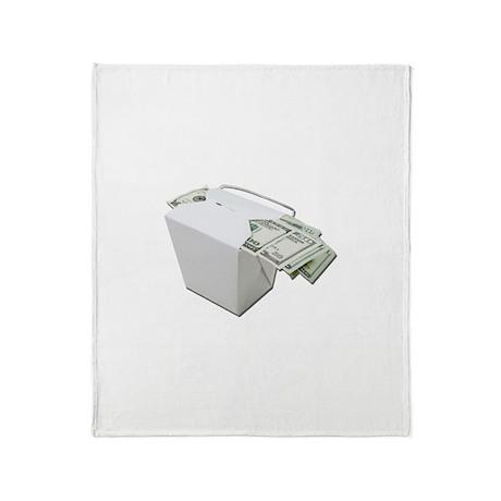 Monetary Tip Throw Blanket