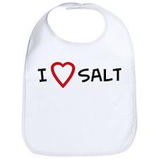I Love Salt Bib