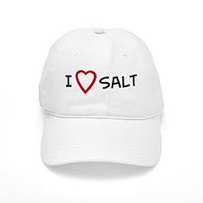 I Love Salt Baseball Cap
