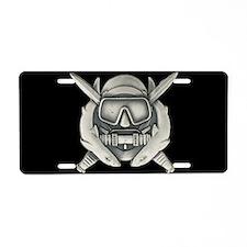 Combat Diver License Plate
