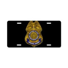 DSS Special Agent License Plate