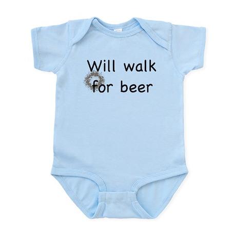 Walk for beer Infant Bodysuit