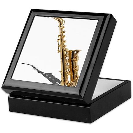 Saxophone Keepsake Box
