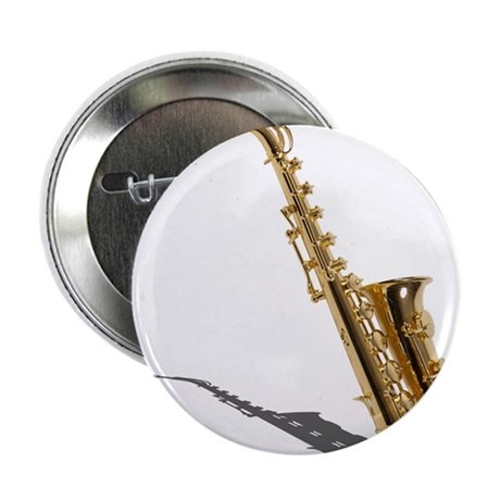 "Saxophone 2.25"" Button (100 pack)"