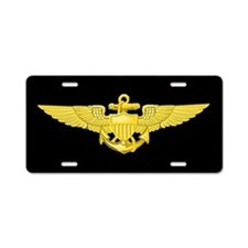Navy Pilot License Plate