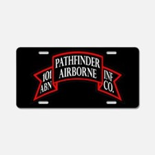 101st Pathfinder License Plate