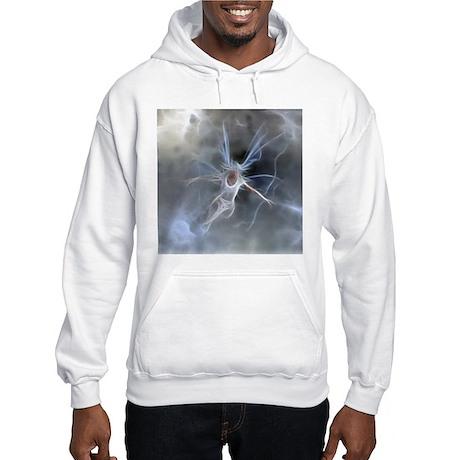 Fractal Faerie - Air Hooded Sweatshirt