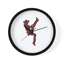 """Cowgirl"" Wall Clock"