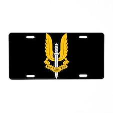 SAS License Plate