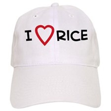 I Love Rice Baseball Cap