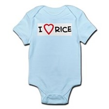 I Love Rice Infant Creeper