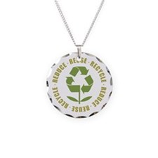 Reduce Reuse Recycle Necklace