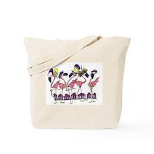 Unique Flamingo humor Tote Bag