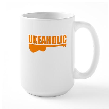 funny ukulele Large Mug