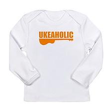 funny ukulele Long Sleeve Infant T-Shirt