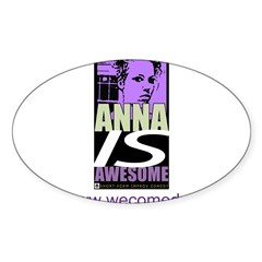 Anna is Awesome Decal