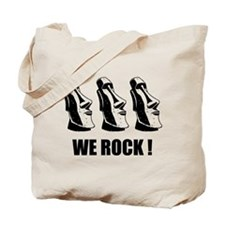 Easter Island: We Rock Tote Bag