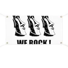 Easter Island: We Rock Banner