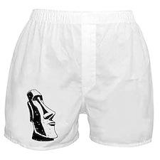 Easter Island Head Boxer Shorts