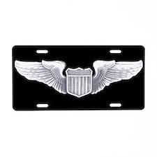 Wings License Plate