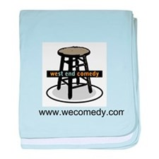 West End Comedy baby blanket