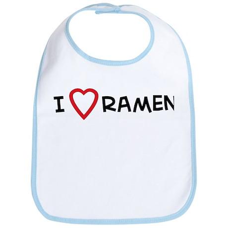 I Love Ramen Bib