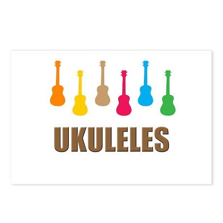 ukulele ukuleles Postcards (Package of 8)