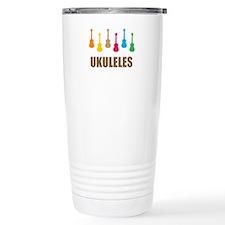 ukulele ukuleles Travel Coffee Mug