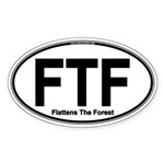 FTF Specialty Sticker (Oval 50 pk)