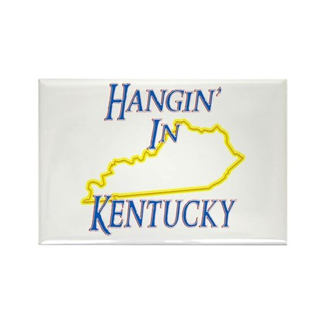 Hangin' in KY Rectangle Magnet (10 pack)