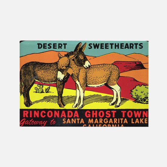 Rinconada Ghost Town Rectangle Magnet
