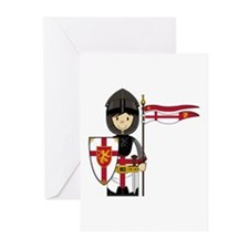 Little Medieval Knight Greeting Card (Pk of 20)