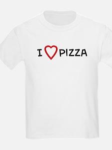I Love Pizza Kids T-Shirt