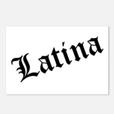 """""""Latina"""" Postcards (Package of 8)"""