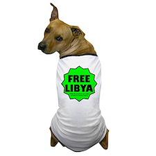 Free Libya Dog T-Shirt