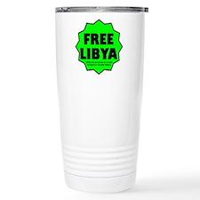 Free Libya Travel Mug