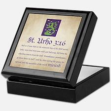 St. Urho 3:16 Keepsake Box