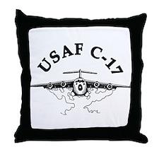 C-17 Throw Pillow
