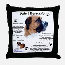 Saint 1 Throw Pillow