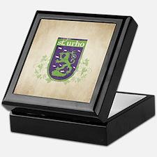 St. Urho Coat of Arms Keepsake Box